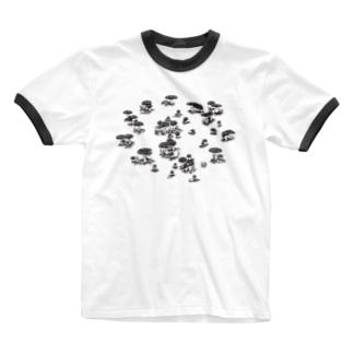 大家族 Ringer T-shirts