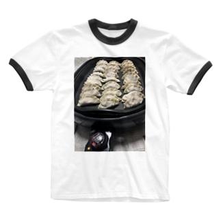 餃子 ぎょうざ ギョウザ gyoza 🥟 Ringer T-shirts