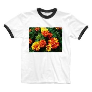 幸せになれるよ!! Ringer T-shirts