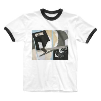 punkadada Design Ringer T-shirts