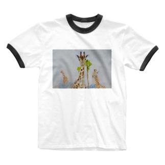 きりんのきもち Ringer T-shirts