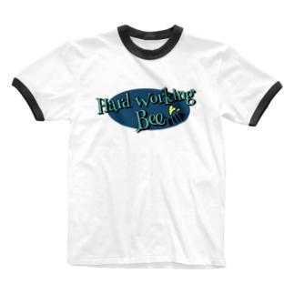 ポタ Ringer T-shirts
