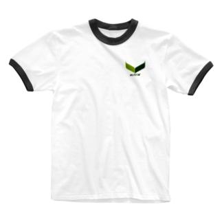 東風のわかば(シンプル) Ringer T-shirts