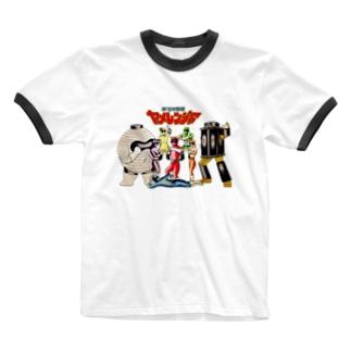ヤメレンジャー Ringer T-shirts