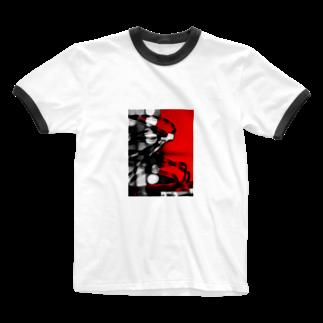混沌コントロール屋さんのF5 Ringer T-shirts