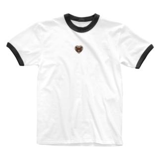 バーバリーくまちゃん Ringer T-shirts