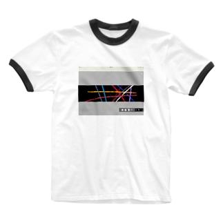 ビューーーン Ringer T-shirts