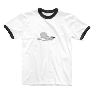 ひと。 Ringer T-shirts
