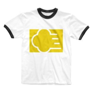 筋斗雲 きいろ Ringer T-shirts