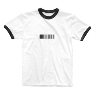 Ryosukeのbarcode? Ringer T-shirts