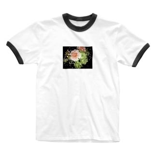 はな Ringer T-shirts