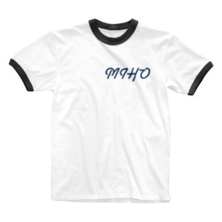れ み れ み🐶のみほ夏休み Ringer T-shirts