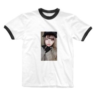あおいくんぐっちゅ Ringer T-shirts