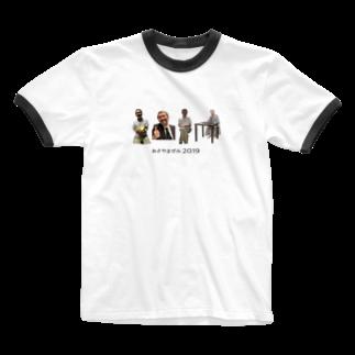 彩香 落合のああ、あら Ringer T-shirts
