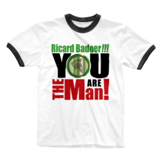 MacciのYou are the man! Ringer T-shirts