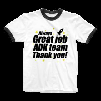 MacciのGreat ADK team! Ringer T-shirts
