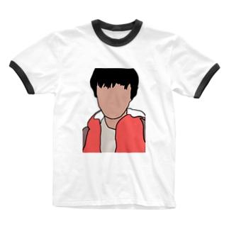 影山のグッズ Ringer T-shirts