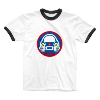 パ紋No.3403 BooBee  Ringer T-shirts