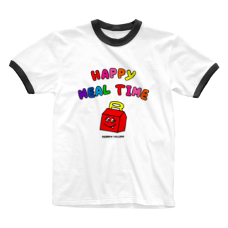 RAINBOW LOLLIPOPのHAPPY MEAL TIME Ringer T-shirts