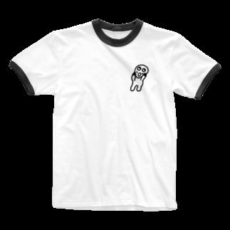 Venizakuraのなやんでるくん Ringer T-shirts