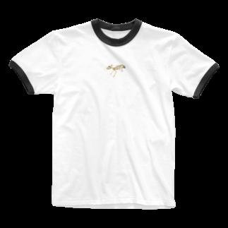 xox_syotaの骨チュー Ringer T-shirts