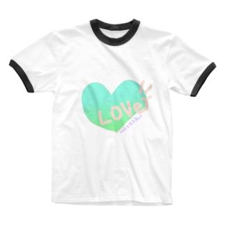 爽やかLOVE Ringer T-shirts