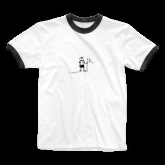 なるの天国と地獄 Ringer T-shirts