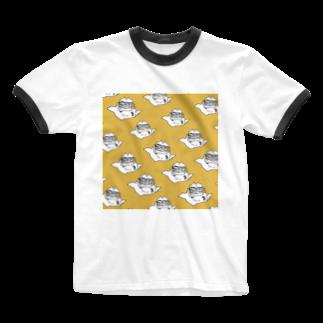 なるのパターン(スマイル セットで120円) Ringer T-shirts