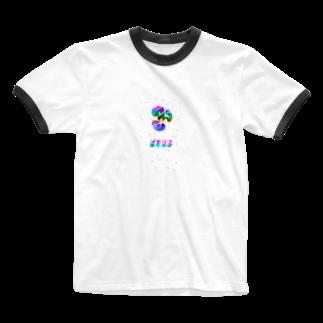 くそしょっぷのくそバオバオ Ringer T-shirts