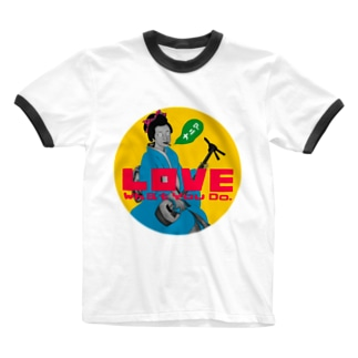 Love What You Do (POP) Ringer T-shirts