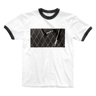 エレキギターを弾こう! Ringer T-shirts