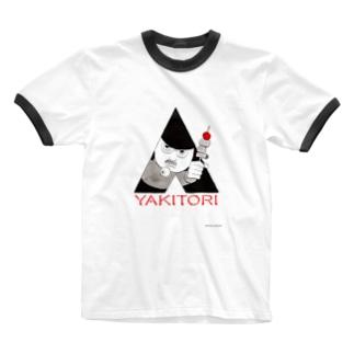 時計じかけの焼き鳥 Ringer T-shirts