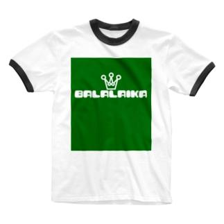 バラライカ-pop Ringer T-shirts