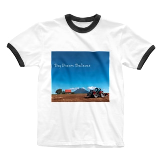 Day Dream Believer Ringer T-shirts