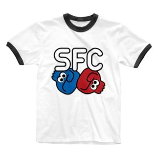 SFC★ロゴ Ringer T-shirts