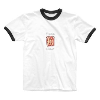 ピザトースト Ringer T-shirts