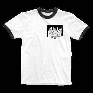 狐中天のいっそいちたりない Ringer T-shirts