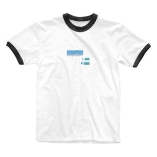 skyblue  水色 Ringer T-shirts