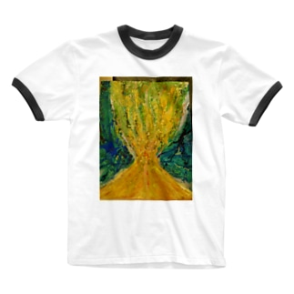 Tree of life Ringer T-shirts