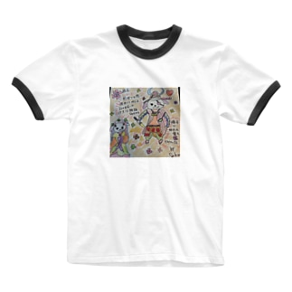 前世 Ringer T-shirts