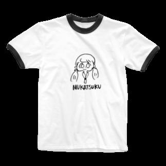 ymnkmoeのムカツクむかつく Ringer T-shirts