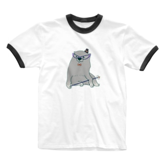 あの犬/仮装 Ringer T-shirts