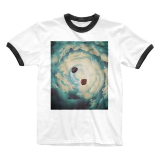 私のドッパ(帽子) Ringer T-shirts