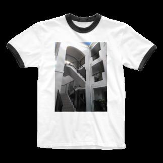 西園寺 颯斗のステアズウェイ Ringer T-shirts