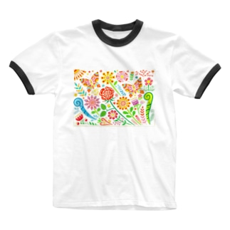HAPPY DAY! Ringer T-shirts