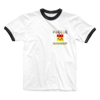 ぽこぽんりんがーてぃーしゃつ Ringer T-shirts