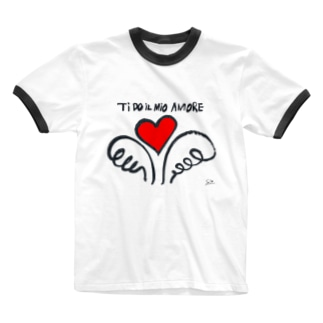 Amore Ringer T-shirts