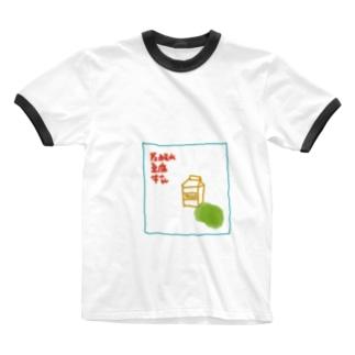 買物メモ Ringer T-shirts