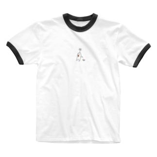 さんぽ Ringer T-shirts