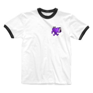 心生命体LUBDUB  Ringer T-shirts